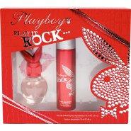 Playboy Play It Rock Gift Set 30ml EDT + 75ml Body Spray