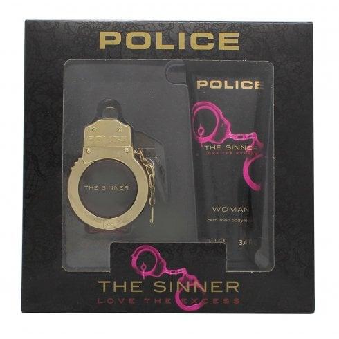 Police The Sinner Gift Set 30ml EDT + 100ml Body Lotion