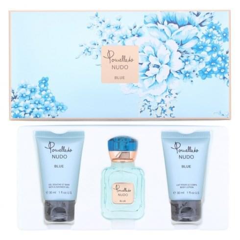 Pomellato Nudo Blue Gift Set 25ml EDP + 30ml Shower Gel + 30ml Body Lotion