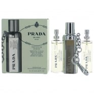 Prada Infusion D'Iris Gift Set 10ml EDP Refillable + 2 x 10ml Refills