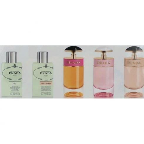 Prada Ladies 5pc Mini Set