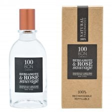 100Bon Bergamote & Rose Sauvage Natural Ingredients EDP Spray 50ml