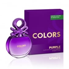 Benetton Colors for Her Purple 80ml EDT Spray