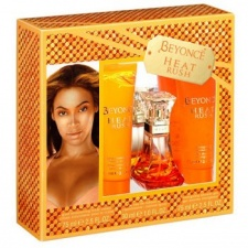 Beyonce Heat Rush Gift Set 30ml EDT + 75ml Body Lotion + 75ml Shower Gel