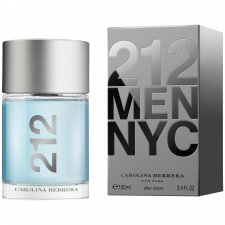 Carolina Herrera 212 Mens NYC Aftershave 100ml Bottle