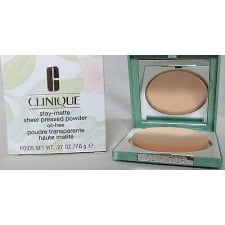 CLINIQUE 03 STAY BEIGE (MF/M) STAY MATTE SHEER PRESSED POWDER 7.6G OIL
