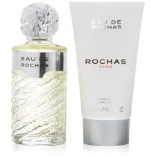 Eau de Rochas 100ml EDT Spray / 150ml Body Lotion