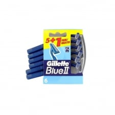 Gillette Blue II 6 Units