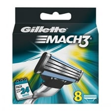 Gillette Mach3 Refill 8 Units