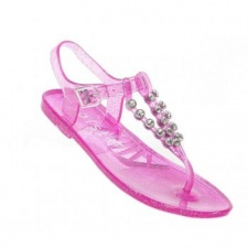 Holster Kids Glitter Triple Strap - Clear Pink
