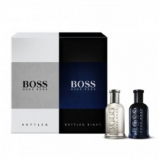 Hugo Boss Gift Set - Hugo Grey 30ml EDT + Hugo Grey Night 30ml EDT