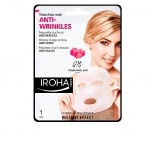 Iroha Nature Anti Wrinkles Tissue Face Mask Q10 1 Unit