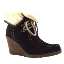 Xti Ladies Ankle Boot Brown - 25613
