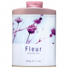 Mayfair Fleur Tinned Talcum Powder 200g