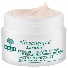 Nuxe Crème Nirvanesque Enrichie - 1st Wrinkles Rich Smoothing Cream (Dry to Very Dry Skin) 50ml