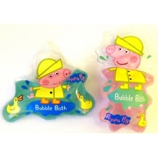 Peppa Pig Bubble Bath 2x60ml Pouches