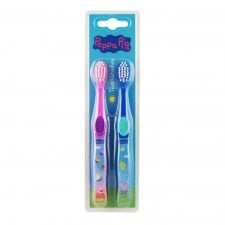 Peppa Pig Toothbrushes x2