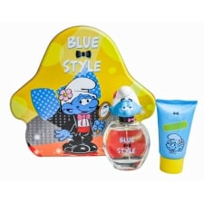 The Smurfs SMURFS BRAINY 3D 2PCE TIN SET      50ML EDT + 75ML SHOWER GEL