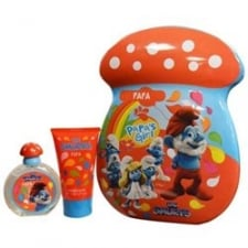 The Smurfs SMURFS CLUMSY 3D 50ML  2PCE TIN SET50ML EDT + 75ML SHOWER GEL