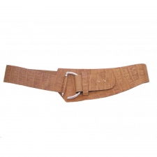 Total Accessories Tan Hook Buckle Belt - 6941