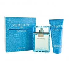 Versace Man Eau Fraiche Gift Set 100ml EDT + 100ml Shower Gel