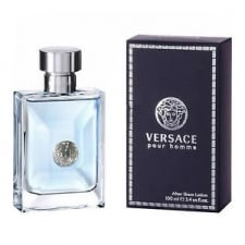 Versace New Homme Aftershave Lotion (Splash) 100ml