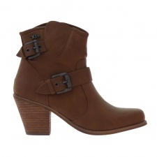 Womens Xti Ankle Boots Brown