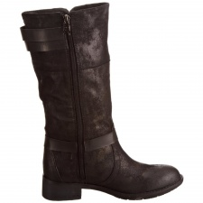 Xti Ladies Buckle Boot Brown