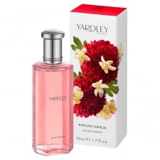 Yardley English Dahlia EDT 50ml Spray