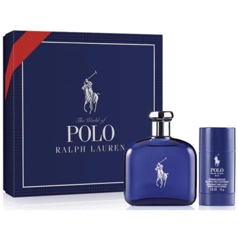Ralph Lauren Polo Blue EDT Spray 125ml Set 2 Pieces 2016