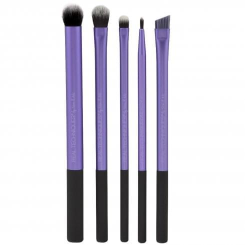 Real Techniques Eyelining Gift Set 4 x Brushes + Case