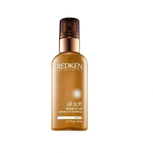 Redken All Soft Argan 6 Oil For Dry Hair 90ml