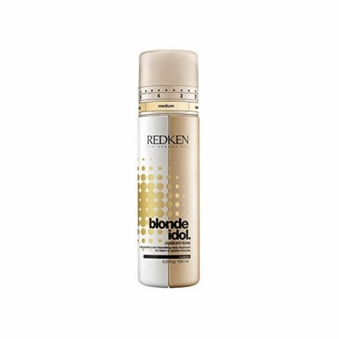 Redken Blonde Idol Custom Tone Gold Daily Treatment For Warm Blondes 196ml