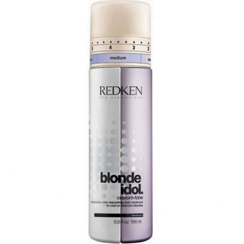 Redken Blonde Idol Custom Tone Violet Daily Treatment For Cool Blondes 196ml