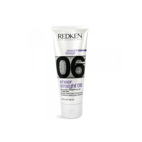 Redken Sheer Straight 06 Lightweight Straightening Gel 100ml