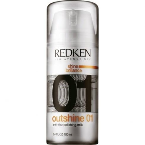 Redken Shine Brillance Outshine 01 Anti Frizz Polishing Milk 100ml