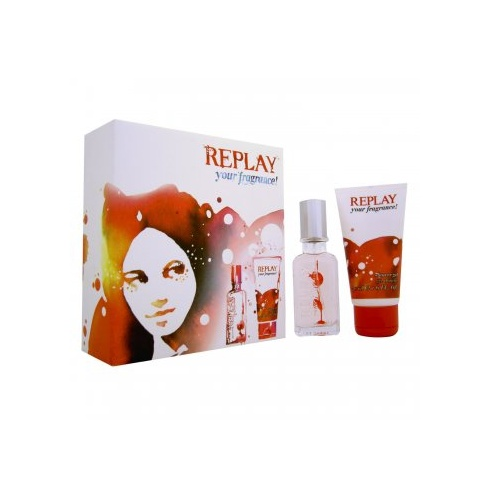Replay for Her Your Fragrance Gift Set - 20ml EDT Spray + 50ml Shower Gel