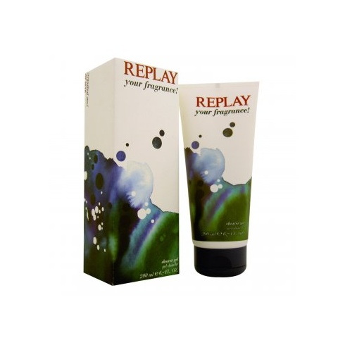 Replay for Him Your Fragrance Shower Gel 200ml (Boxed)