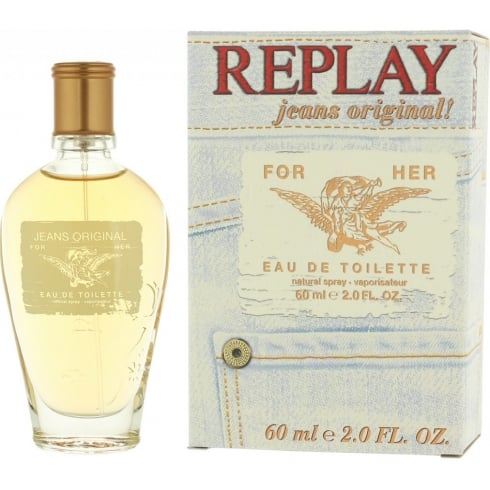 Replay Jeans Original for Her 60ml EDT Spray