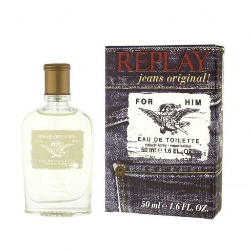 Replay Jeans Original for Him 75ml EDT Spray