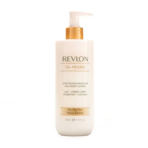 Revlon 24 Hours Rich Body Lotion 400ml - Dry Skin