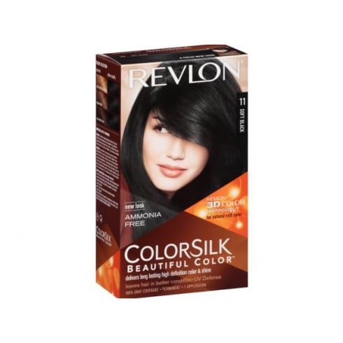 Revlon Colorsilk Ammonia Free 11 Soft Black