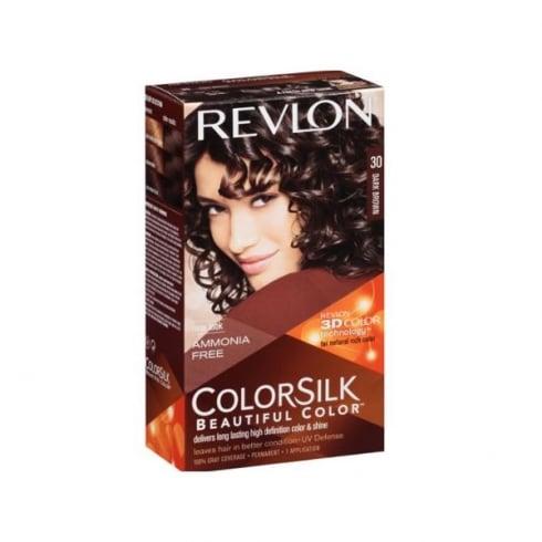 Revlon Colorsilk Ammonia Free 30 Dark Brown