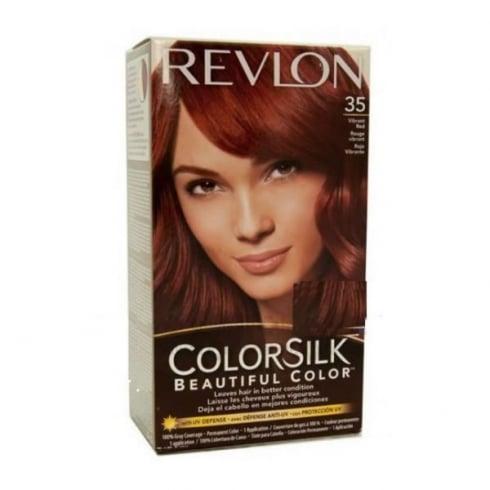 Revlon Colorsilk Ammonia Free 35 Vibrant Red
