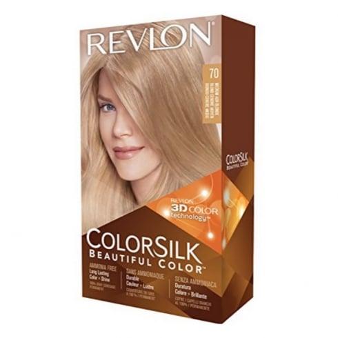 Revlon Colorsilk Ammonia Free 70 Medium Ash Blonde