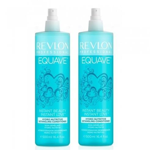 Revlon Equave Hydro Shampoo Duo Gift Set 250ml + Volumizing Leave-In Spray Conditioner 200ml