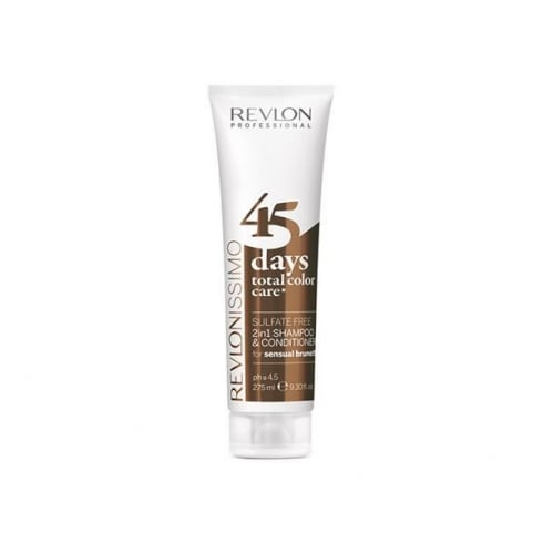Revlon Revlonissimo Color Care Shampoo And Conditioner 2 In 1 Sensual Brunettes 275ml