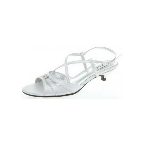 Lexus Rhonda Womens Butterfly Brooch Strap Sandles