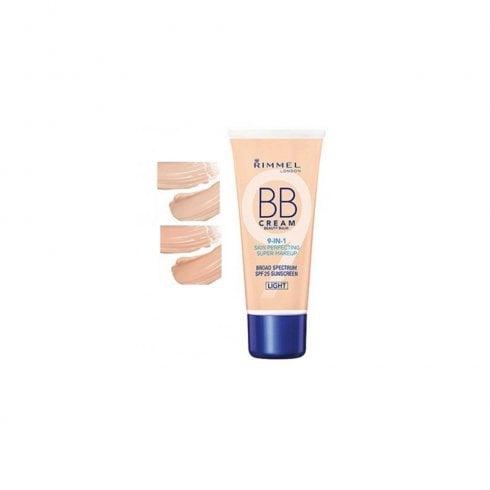 Rimmel Bb Cream Super Makeup 30ml 9 In 1 Skin Perfecting Light