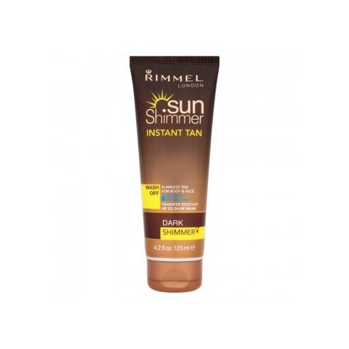 Rimmel London Sunshimmer Instant Tan Wash Off 125ml Dark Shimmer